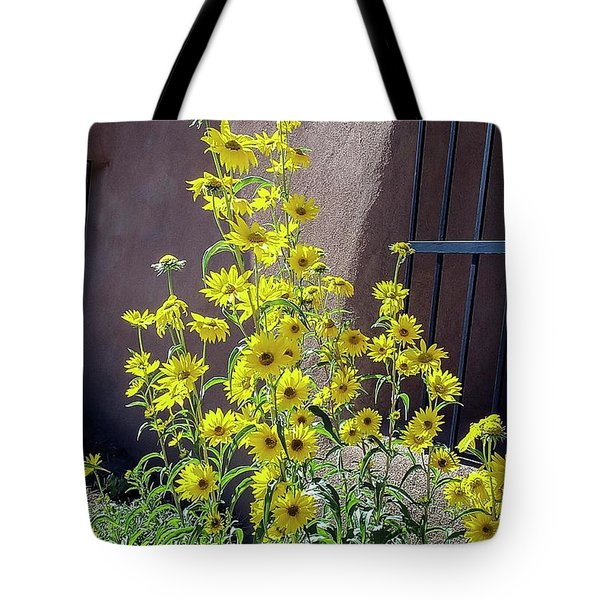 Yellow Composites At Ghost Ranch  Tote Bag