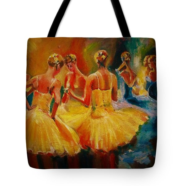 Yellow Costumes Tote Bag