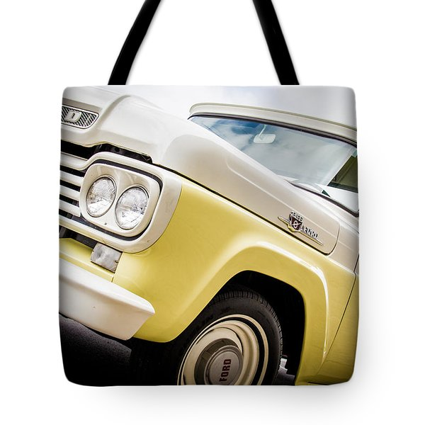 Yellow Cream Dreamsicle  Tote Bag