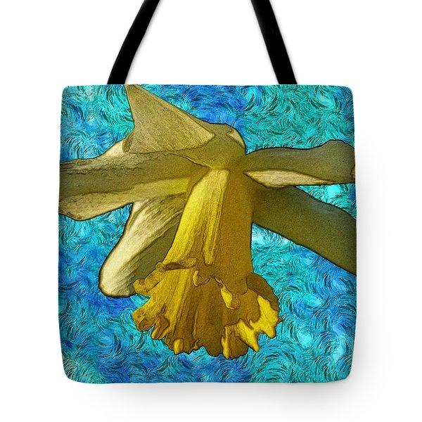 Yellow Daffodil 3 Tote Bag by Jean Bernard Roussilhe