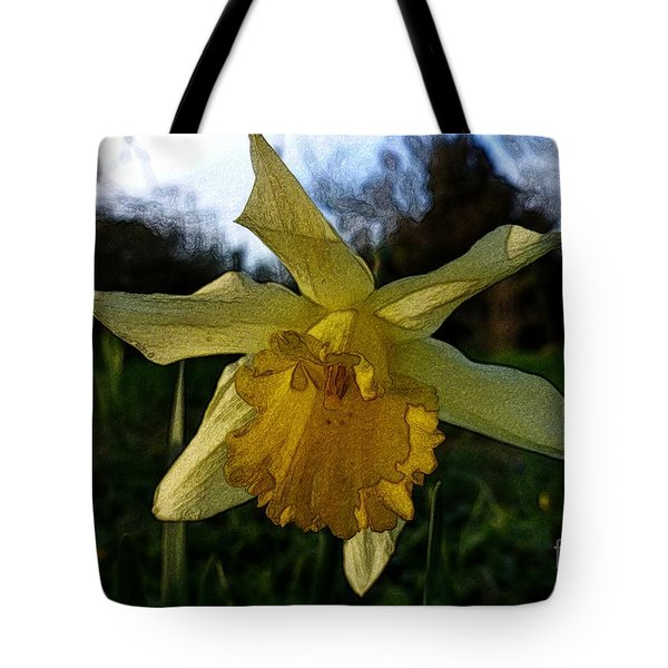 Yellow Daffodils 5 Tote Bag by Jean Bernard Roussilhe