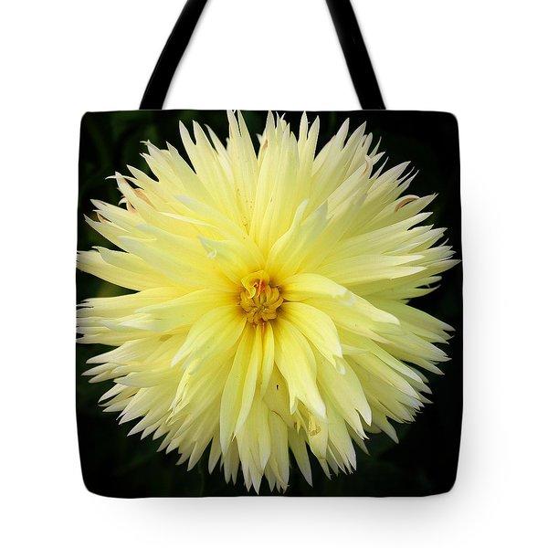 Yellow Dahlia Tote Bag