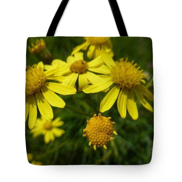 Yellow Daisies 2 Tote Bag