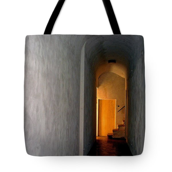 Tote Bag featuring the photograph Yellow Door by Lynda Lehmann