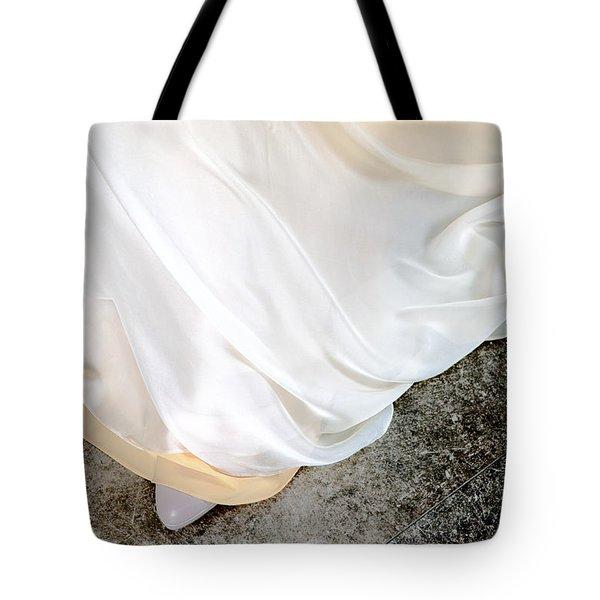 Yellow Dress #9936 Tote Bag