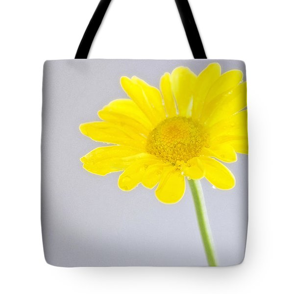Yellow Drops Tote Bag