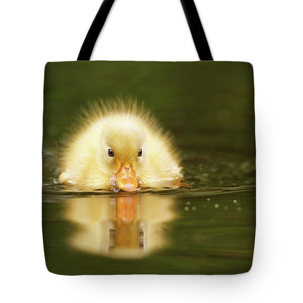 Yellow Ducking -narcissus II Tote Bag