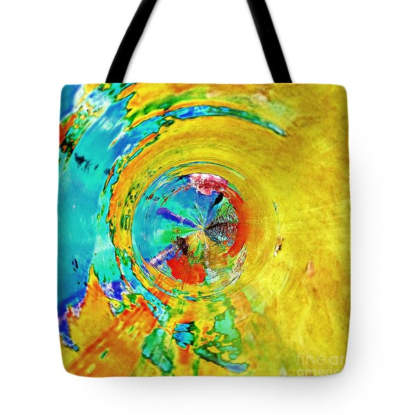 Yellow Eclipse  Tote Bag