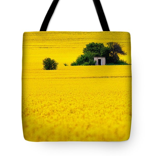 Yellow Tote Bag by Evgeni Dinev
