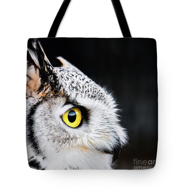 Yellow Eye Tote Bag