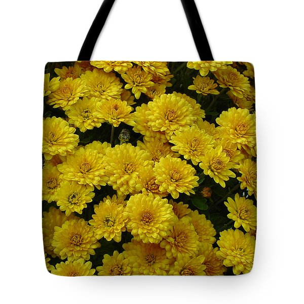 Yellow Fall Tote Bag by Shirley Heyn