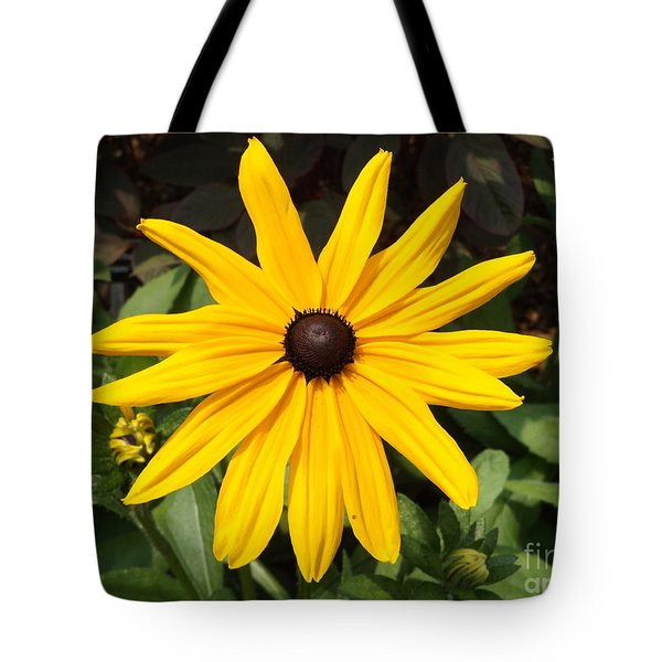 Yellow Flower Tote Bag by Erick Schmidt