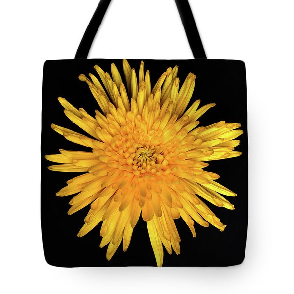 Yellow Flower Macro Tote Bag