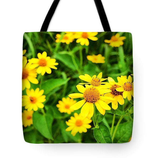 Yellow Flowers No. 2 Tote Bag