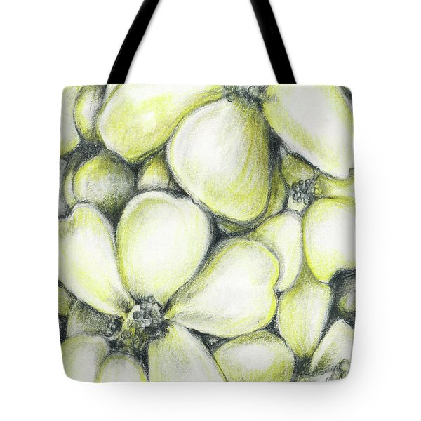 Yellow Flowers Pencil Tote Bag