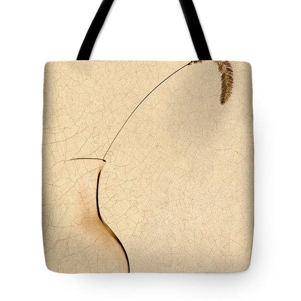 Yellow Foxtail Still Life Tote Bag by Tom Mc Nemar