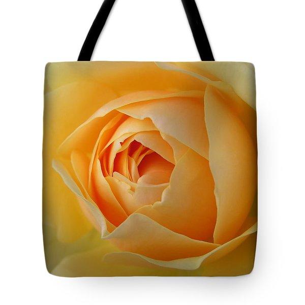 Yellow Graham Thomas Rose Tote Bag