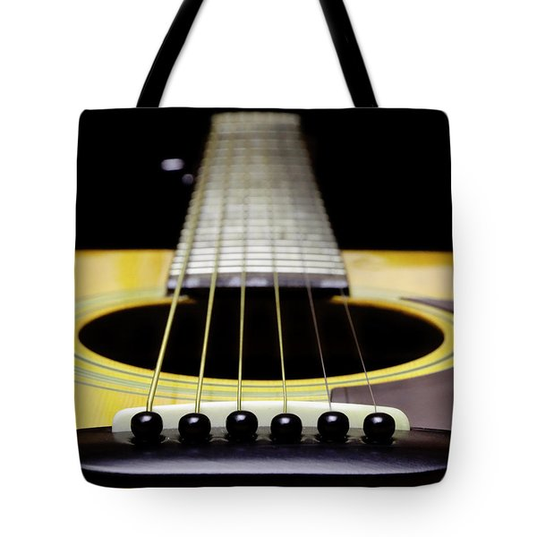 Yellow Guitar 17 Tote Bag