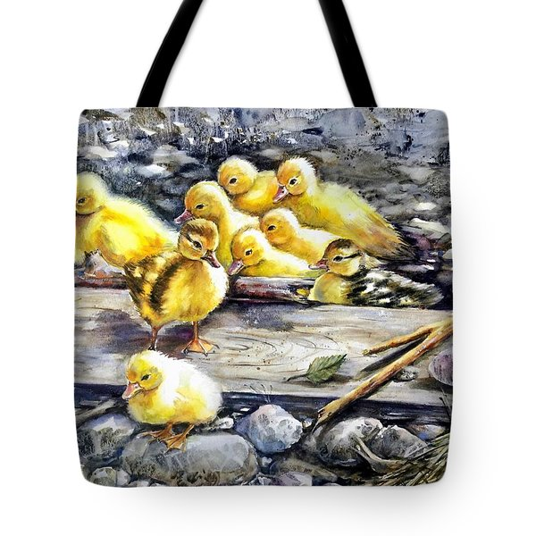 Yellow Happiness Tote Bag