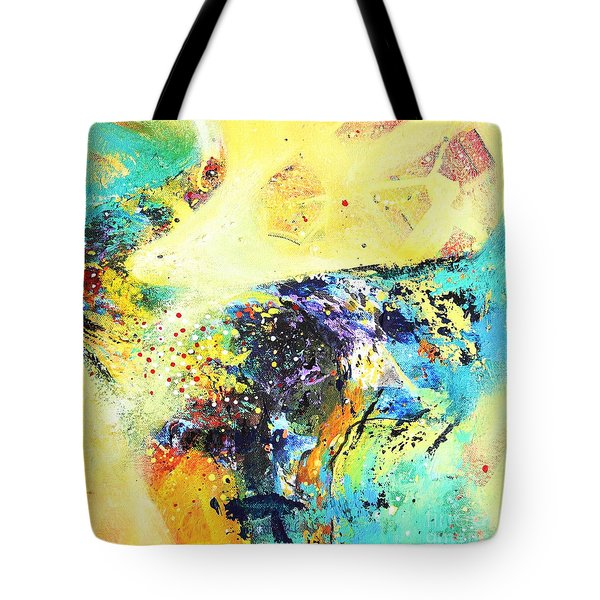 Yellow Harmy Tote Bag