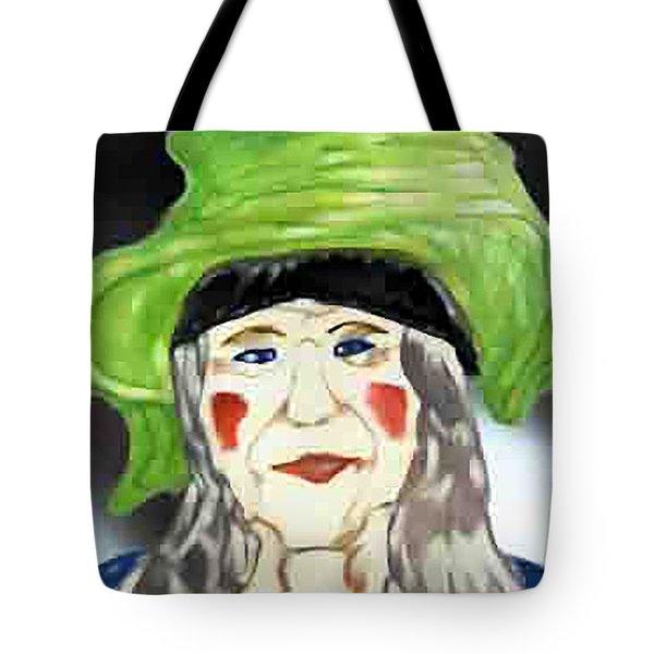 Yellow Hat Tote Bag