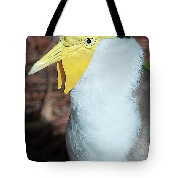 Tote Bag featuring the photograph Yellow Headed Bird by Michael D Miller