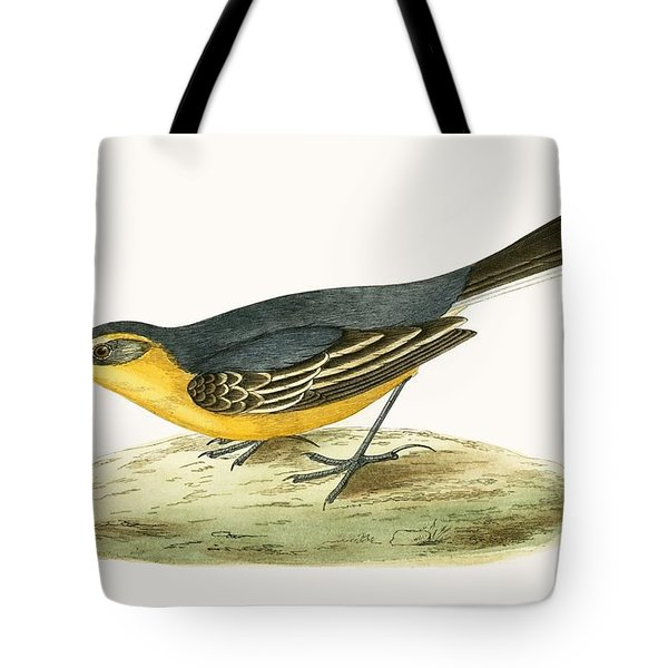 Yellow Headed Wagtail Tote Bag