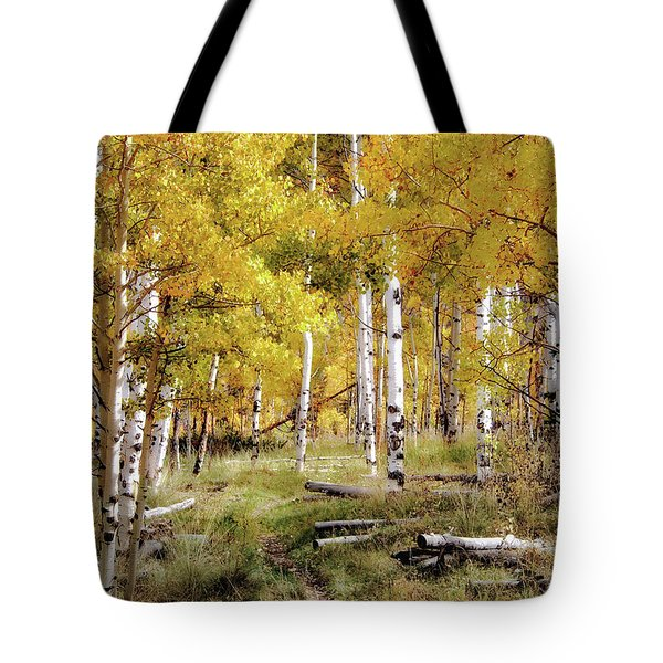 Yellow Heaven Tote Bag by Jim Hill