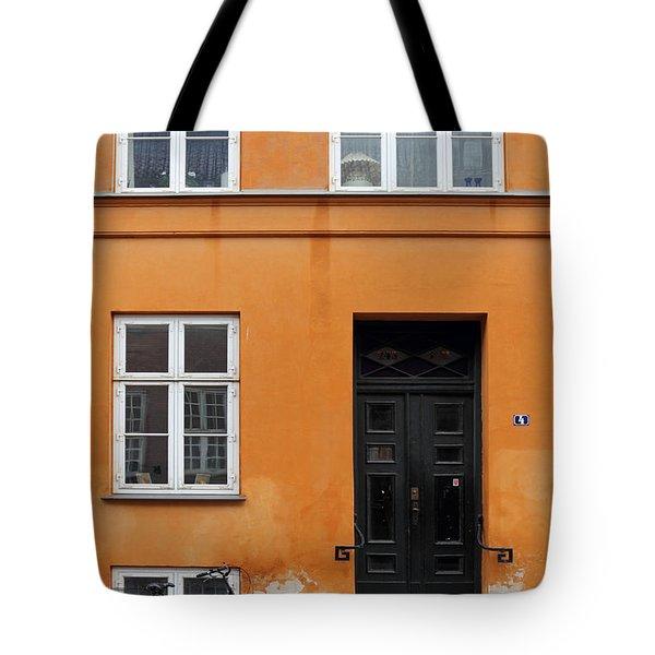 The Orange House Copenhagen Denmark Tote Bag