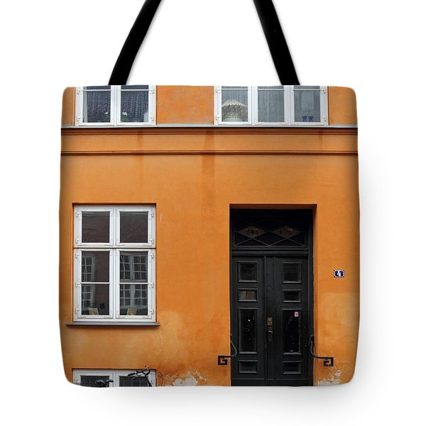 The Orange House Copenhagen Denmark Tote Bag