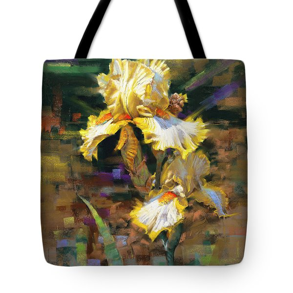 Yellow Iris II Tote Bag