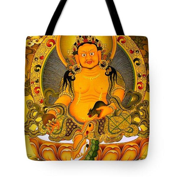 Yellow Jambhala 3 Tote Bag