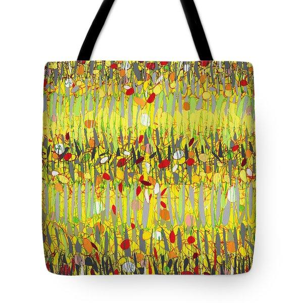 Yellow Jazz Tote Bag