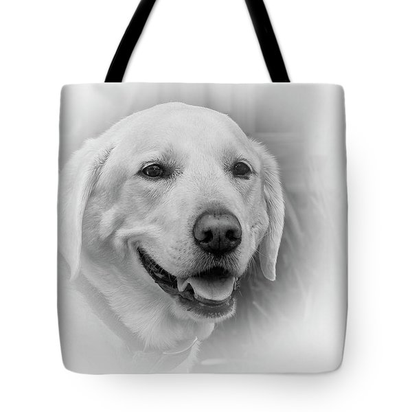 Yellow Labrador Tote Bag