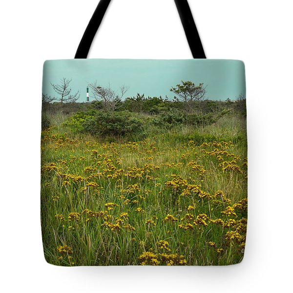 Tote Bag featuring the photograph Yellow Meadow by Jose Oquendo