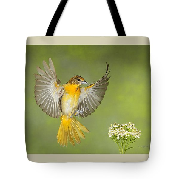 Yellow Meet Yarrow Tote Bag