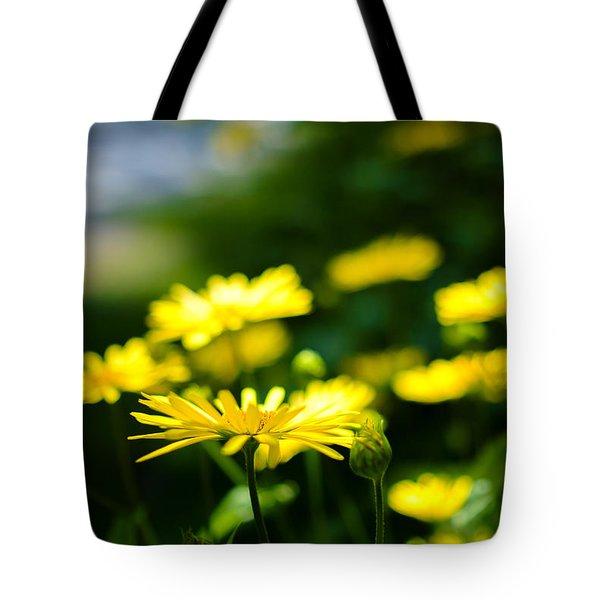 Yellow Moment Tote Bag