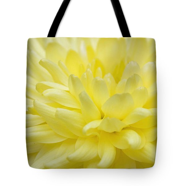Yellow Mum Tote Bag