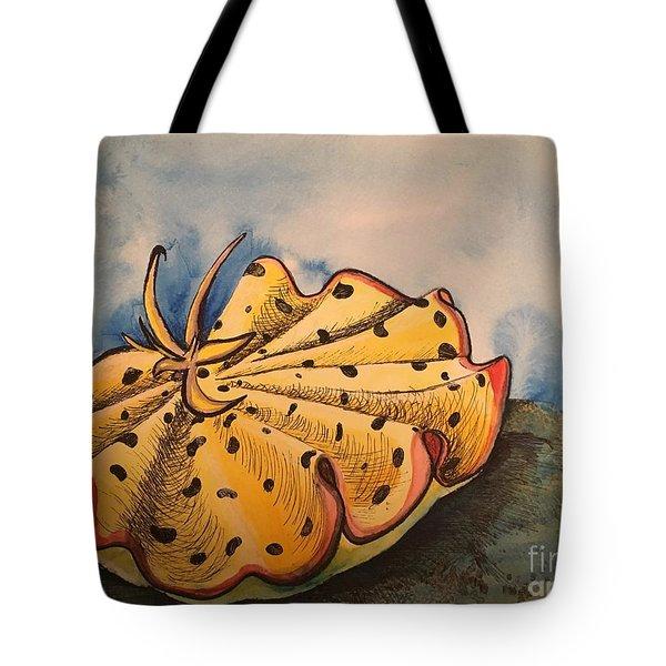 Yellow Nudibranch Tote Bag