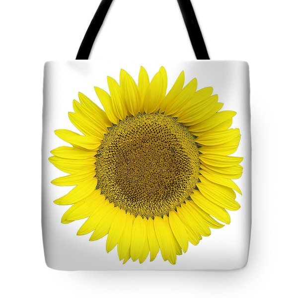 Yellow On White Tote Bag