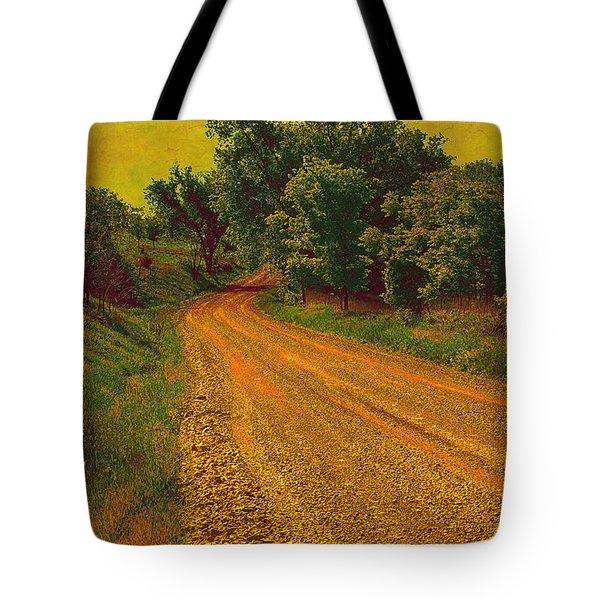 Yellow Oz Road Tote Bag