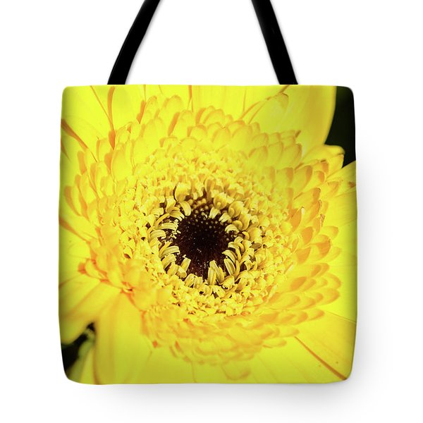 Yellow Pedal Tote Bag