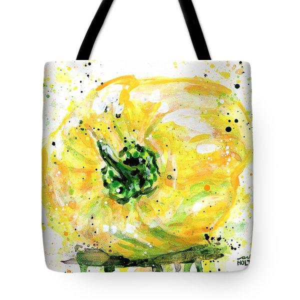 Yellow Pepper Tote Bag
