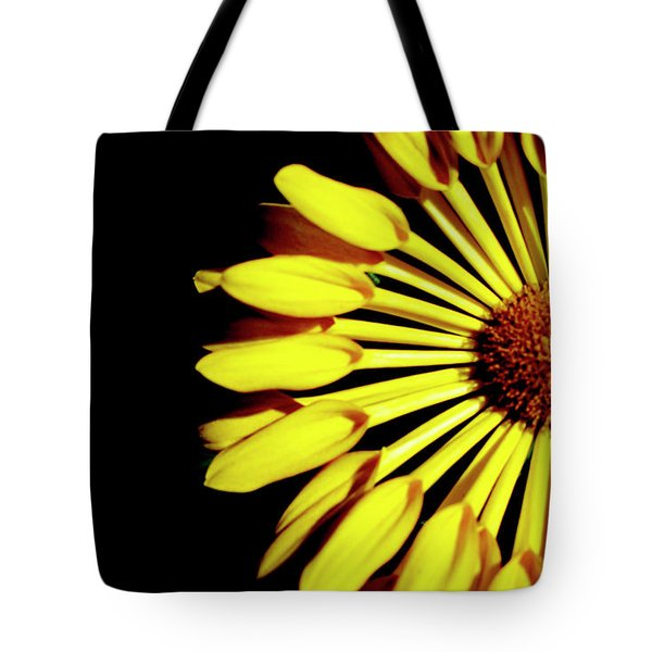 Yellow Petals Tote Bag