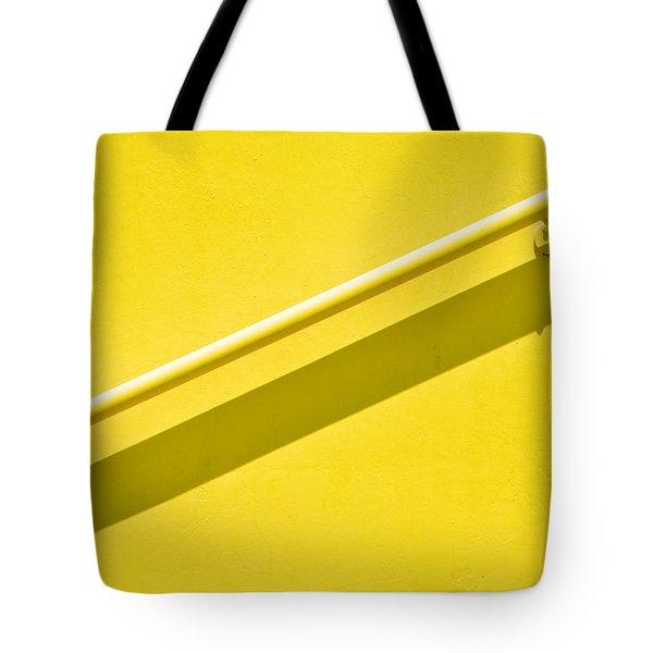 Yellow Rail Tote Bag