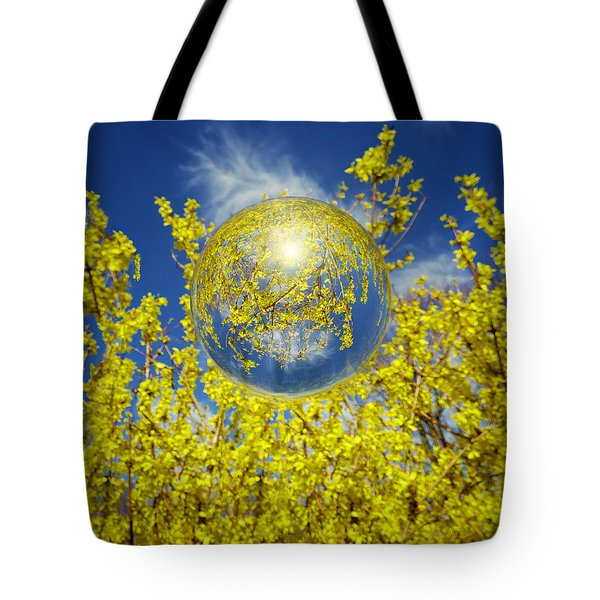 Tote Bag featuring the photograph Yellow by Robert Geary