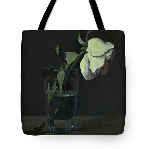 Yellow Rose No. 3 Tote Bag