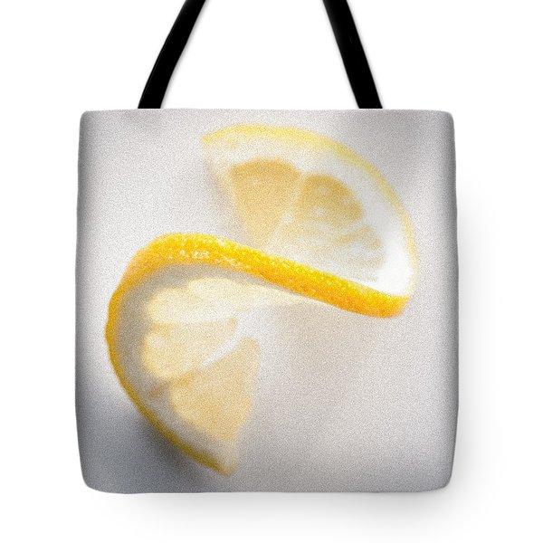 Yellow Spiral Tote Bag