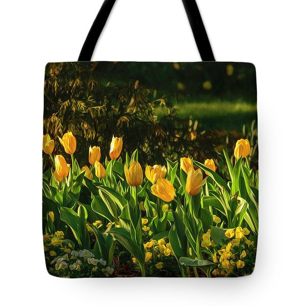 Yellow Spring Fever Tote Bag