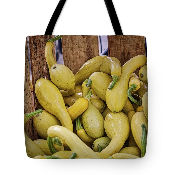 Yellow Squash Tote Bag
